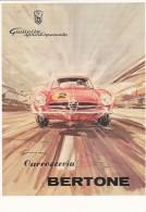 1954181Alfa Romeo, Cavvozzevia BERTONE (REPRO) - Cartes Postales