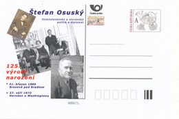 Rep. Ceca / Cart. Postali (Pre2014/11) Stefan Osusky (1889-1973) Politico E Diplomatico Cecoslovacco E Slovacco - Altri