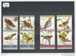 NEVIS 1985 - YT N° 291/298 NEUF SANS CHARNIERE ** GOMME D'ORIGINE LUXE - St.Kitts-et-Nevis ( 1983-...)