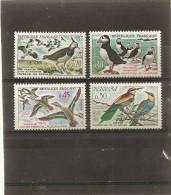 France 1960  Neuf    N° 1273 - 1274 - 1275 - 1276 -   Oiseaux - Frankrijk