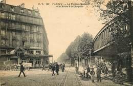 PARIS  10eme METRO THEATRE MOLIERE  Metro La Chapelle - Métro Parisien, Gares