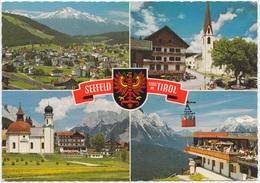 SEEFELD, 1200 M, TIROL, Austria, 1972 Used Postcard [21843] - Seefeld