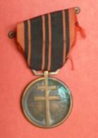 Médaille De La Guerre 1939-1945 - PATRIA NON IMMEMOR - 18/06/1940 - France