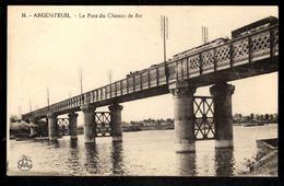 ARGENTEUIL - Le Pont Du Chemin De Fer - Argenteuil