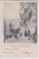 Construction D'une Route En Maurienne Par Le 22e Bataillon De Chasseurs Alpins - Reynaud Chambéry - Cachet Allevard 1902 - France