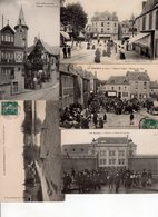 Beau Lot De 100 Cartes Postales Anciennes Ille Et Vilaine Département 35 Dont Nombreuses Animations - Cartes Postales