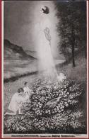 Kussnacht 1935 Droevige Herdenking Koningin Reine Astrid Douloureux Anniversaire Royalty Queen - Femmes Célèbres