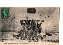 Champ De Bataille De LADON. - Maison CHAMBON - Armes, Projectiles, Empreintes Des Balles Sur Le Mur. 1870. Voir Scan - Sonstige Gemeinden