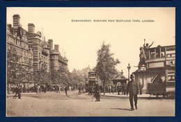 London.Thames Embankment. Whitehall Place. New Scotland Yard. - London