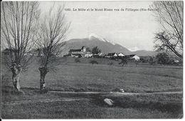 FILLINGES 74 HAUTE-SAVOIE 1060 LE MOLE ET LE MONT-BLANC  VUS DE FILLINGES  EDIT. BOGAT - Francia