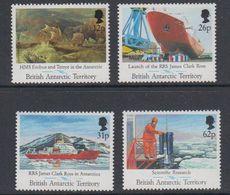 British Antarctic Territory (BAT) 1991 Launch Of The RRS James Clark Ross 4v  ** Mnh (40569A) - Ongebruikt