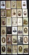 30 X VIELLE PHOTO CDV ** GENS DE BRUXELLES ** A VOIR !! DIFFERENT PHOTOGRAPHES - Oud (voor 1900)