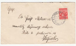Yugoslavia Letter Cover Travelled 1949 Lumbarda To Zagreb B180910 - 1945-1992 Socialist Federal Republic Of Yugoslavia