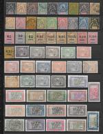 MADAGASCAR - COLLECTION TRES FOURNIE */Ob SUR 9 PAGES CLASSEUR - COTE YVERT = ENVIRON 2000 EURO - - Madagascar (1889-1960)