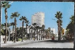 MAROCCO - CASABLANCA - BOULEVARD DE LONDRES - FORMATO PICCOLO - VIAGGIATA 1964 FRANCOBOLLO ASPORTATO - Casablanca