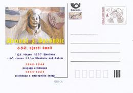 Rep. Ceca / Cart. Postali (Pre2014/18) Arnost Di Pardubice (1297-1364) Arcivescovo Di Praga - Altri