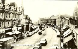 """CP De BROMLEY , KENT """" High Street """" - Autres"""