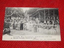 LEUVEN - LOUVAIN -  Karnavalfeesten 1909 -  Fêtes Carnavalesques , 20 Juin 1909 - Exercices D'ensemble - Leuven