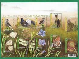 Belgien  2017  Mi.Nr. 4773 - 4782  Sheet  , Dans Les Hautes Fages - Postfrisch / MNH / (**) - Belgium