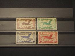 CAMBOGIA - P.A. 1957 UCCELLO 4 VALORI - NUOVI(++) - Cambogia