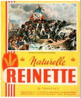 Buvard Biscottes Reinette, Naturelle. Illustration Thème Napoléon : Premières Armes De Napoléon En Sardaigne. - Biscottes