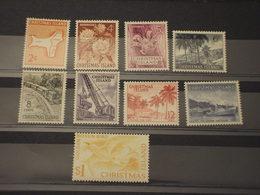 CHRISTMAS - 1969 PITTORICA 9 VALORI - NUOVI(++) - Christmas Island