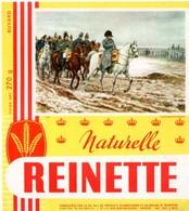 Buvard Biscottes Reinette, Naturelle. Illustration Thème Napoléon : Campagne De France. - Biscottes