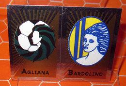 CALCIATORI 2002-2003 N. 702 AGLIANA - BARDOLINO  NEW NUOVA CON VELINA - Panini