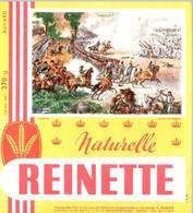 Buvard Biscottes Reinette, Naturelle. Illustration Thème Napoléon : Bataille De Marengo. - Biscottes