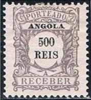 Angola, 1904, # 10, Porteado, MH - Angola