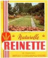 Buvard Biscottes Reinette, Naturelle. Illustration Collection Truffaut. Rosiers Polyantha à Genève. - Biscottes
