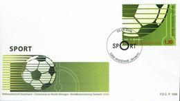 Belgien Belgie Belgium 2006 - Sport Fußball - MiNr 3588 FDC - Fußball-Weltmeisterschaft