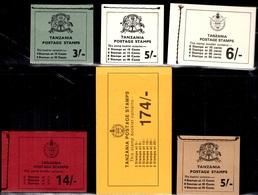 Tanzanie Six Carnets Neufs ** MNH Années 60/70. TB. A Saisir! - Tansania (1964-...)