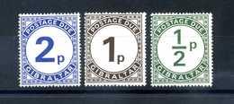1971 GIBILTERRA SET 4/6 TASSE MNH ** - Gibilterra