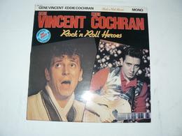 N°BBR 1001 GENE VINCENT & EDDIE COCHRAN. Rock'n Roll Heroes - Rock