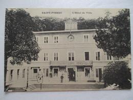 CPA CPSM V1910 CP ILE DE LA MARTINIQUE SAINT-PIERRE L' HOTEL DE VILLE TBE - Other
