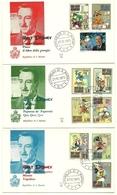 1970 - San Marino 814/23 Walt Disney - FDC - Disney