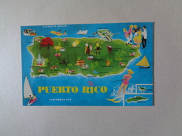 Small PC - Puerto Rico - 9/5.5 Cm - Postcards