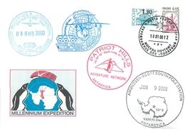 W30 RUSSIA 2000 44 RAE. INTERNATIONAL EXPEDITION TO THE SOUTHERN POLE (RUSSIA-BELARUS-USA) - Voli Polari
