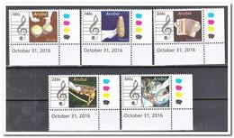 Aruba 2016, Postfris MNH, Music - Curaçao, Antille Olandesi, Aruba