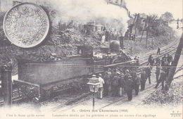 Grève Des Cheminots - Locomotive Dételée Par Les Grèvistes - Reproduction CPA - Strikes