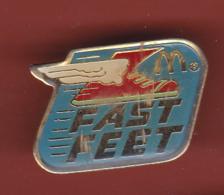 53698-Pin's-McDonald's .fast Feet.rollers. - McDonald's