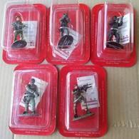 5  SOLDATINI  MILITARI DEL PRADO (280818) - Small Figures