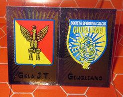CALCIATORI 2002-2003 N. 696 GELA - GIUGLIANO  NEW NUOVA CON VELINA - Panini