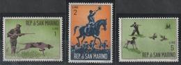 Chiens  - Chasse Moderne - Saint-Marin - Année 1962 - N° 562/563-566 Et 568 à 5571 - Lot 7 Valeurs - Hunde