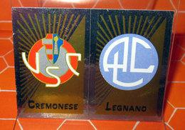 CALCIATORI 2002-2003 N. 676 CREMONESE - LEGNANO  NEW NUOVA CON VELINA - Edizione Italiana