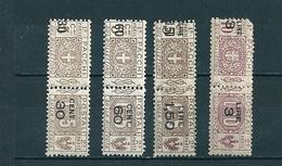 1923 PACCHI POSTALI SOPRASTAMPATI SERIE COMPLETA NUOVO @ - Paquetes Postales