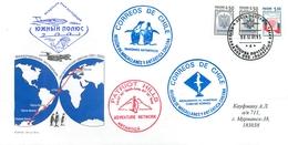 W30 RUSSIA 2001 45 RAE. International Expedition To The South Pole «ANTARCTIC ODYSSEY 2001-2002» - Voli Polari