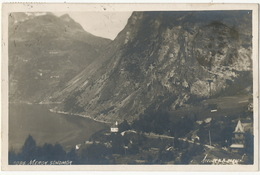 Real Photo  1086 Merok Sondmor  Atelier KK Bergen P. Used Geiranger  1931 - Norway
