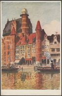 Berthold Hellengrath - Frauentor, Danzig, C.1920s - Danziger Verlags AK - Poland